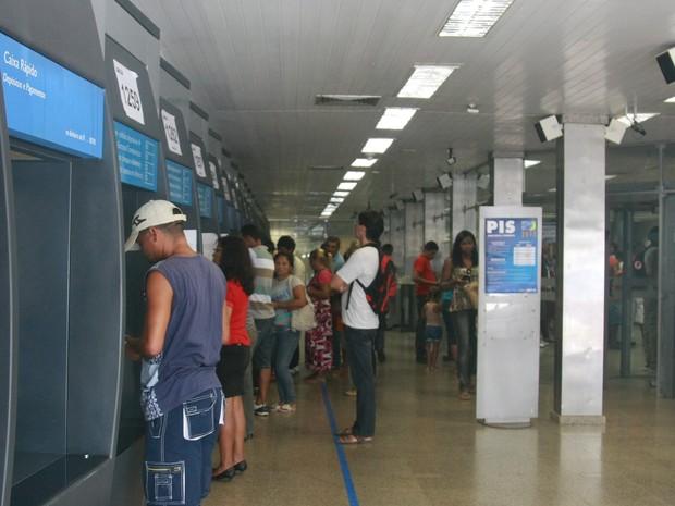 As agências bancárias de São Luís não vão funcionar nos dias 27 e 28 de fevereiro. (Foto: Flora Dolores/O Estado)