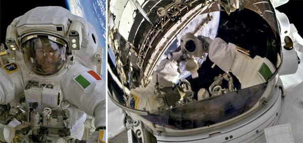 Um selfie difícil de ser superado, o autorretrato tirado pelo astronauta italiano Luca Parmitano tem a Terra e parte da Estação Espacial Internacional, da qual ele é tripulante, como panode fundo. (Foto: reprodução)
