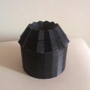 Protótipo em 3D de filtro que funciona com energia do sol (Foto: Divulgação/Jupiara Lima)