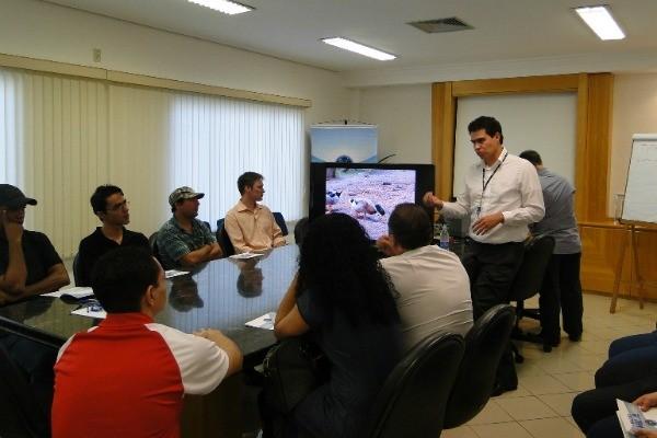 Encontro sobre TV Digital em Bauru (Foto: Arquivo / TV TEM)