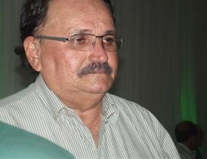 José Vanildo da Silva, presidente da Federação Norte-rio-grandense de Futebol (Foto: Matheus Magalhães/GLOBOESPORTE.COM)