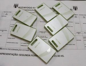 GPS usados pelo Botafogo-SP (Foto: Agência Botafogo-SP)