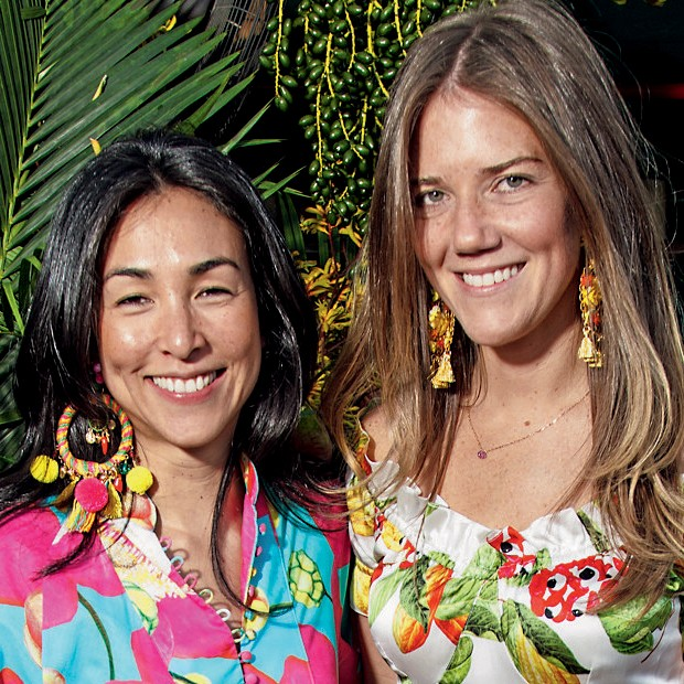 Juliana Affonso Ferreira e Maya Pope (Foto: Allaire Bartel / Divulgação )