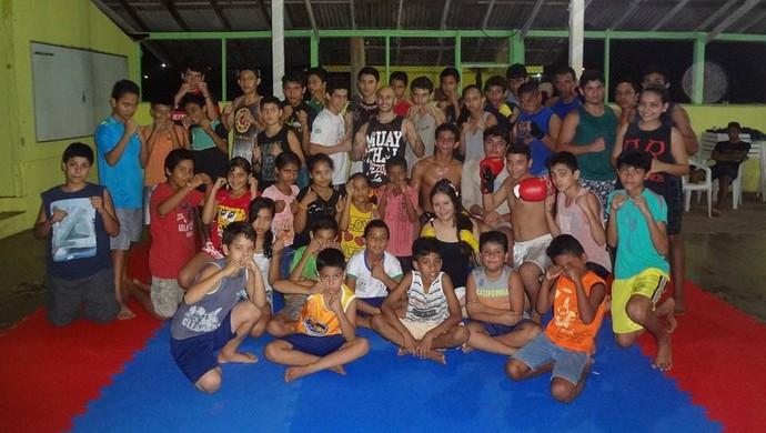 Torneio de boxe e muay thai arrecadará recurso para projeto no AP (Foto: Augusto Neto/Arquivo Pessoal)