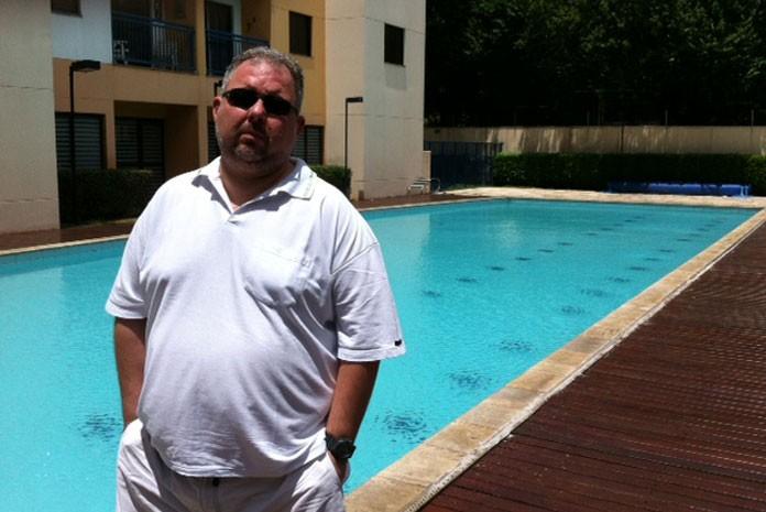 Fábio Arra, síndico de prédio em SP que adotou rodízio e fechou a piscina para fugir de multa na conta
