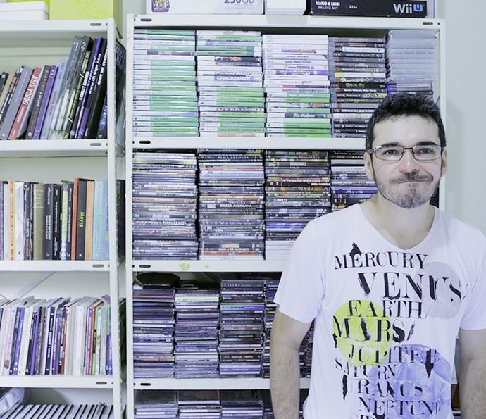 Alan é doutor em Filosofia (Foto: João Mello/Gshow)