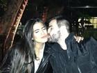 Juntos de novo? Antonia Morais ganha beijo de antigo namorado
