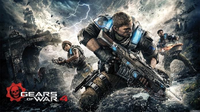 Gears of War 4 é um dos games mais famosos do Xbox One na lista dos Xbox Play Anywhere (Foto: Reprodução/YouTube)