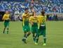 Tiago marca dois, Cuiabá goleia Ope FC e volta à zona de classificação