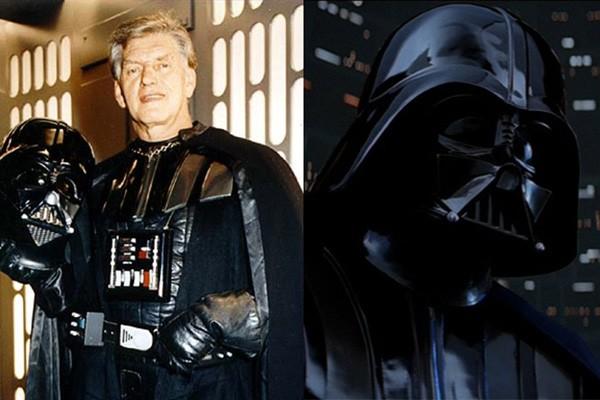 Darth Vader / David Prowse (Guerra nas Estrelas) (Foto: .)