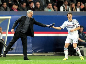 Mourinho hazard Chelsea (Foto: Getty Images)