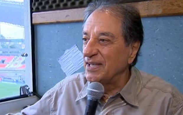 José Carlos Araújo, o Garotinho, deixa a Rádio Globo (Foto: Reprodução SporTV)