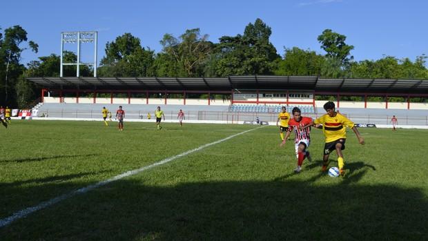 São José e Santana empatam em 1x1 pelo estadual, no Amapá (Foto: Foto: Jonhwene Silva/ GE-AP)
