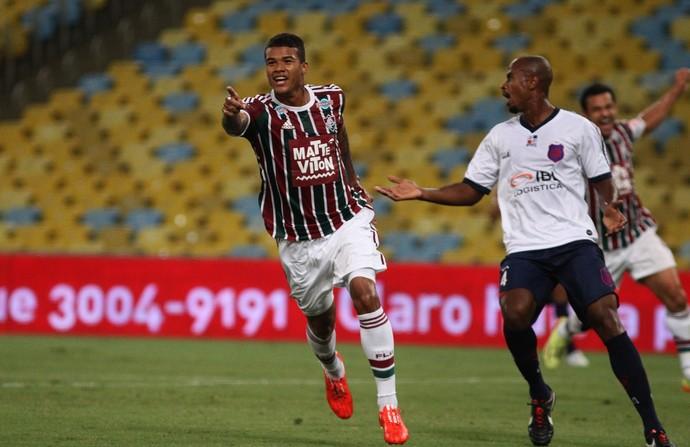 Kenedy, Fluminense x Bonsucesso, Maracanã (Foto: Nelson Perez/Fluminense F.C.)