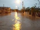 Temporal com granizo causa estragos no interior do Rio Grande do Sul