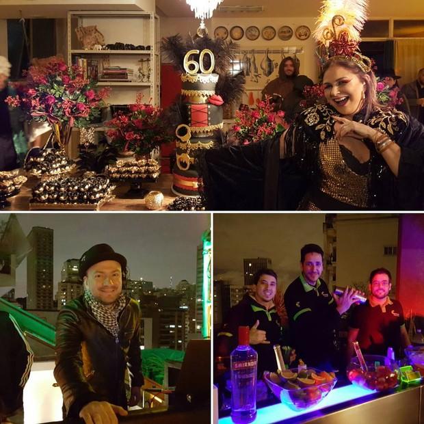 Fafá de Belém comemora 60 anos com festa à fantasia em São Paulo (Foto: Reprodução/Instagram)
