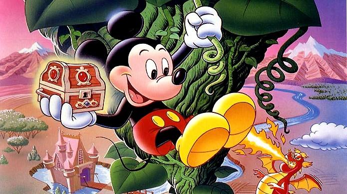Mickey e seus amigos fizeram bonito na geração 8 Bits com muitos jogos divertidos (Foto: Gopixpic)