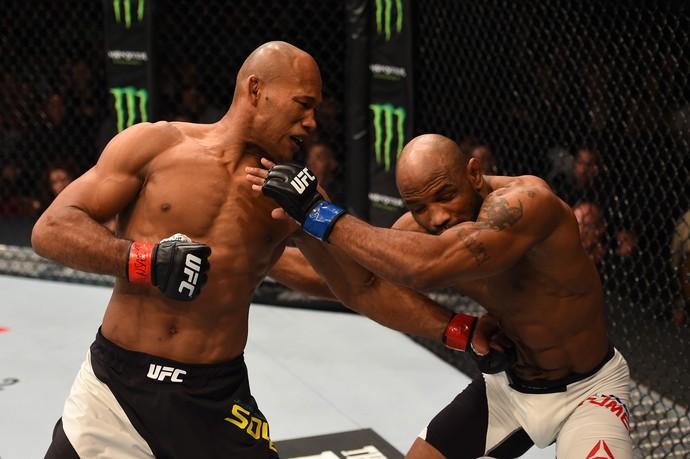 Jacaré Romero UFC 194 (Foto: Getty Images)