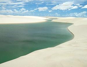 Parque dos Lençóis no Maranhão  (Foto: Divulgação)