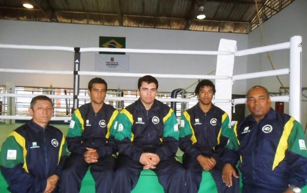 Johnny Klever com a Seleção Brasileira (Foto: Arquivo Pessoal)
