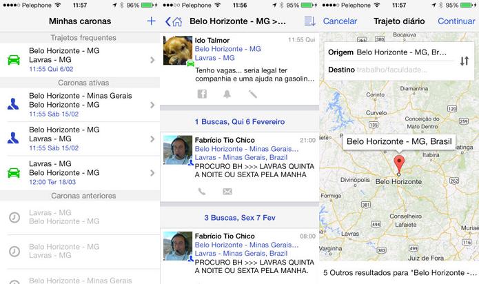 Encontre e ofereça carona com o BeepMe (Foto: Divulgação/AppStore)