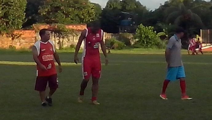 Nei Gaúcho, zagueiro Rio Branco-AC (Foto: Duaine Rodrigues)
