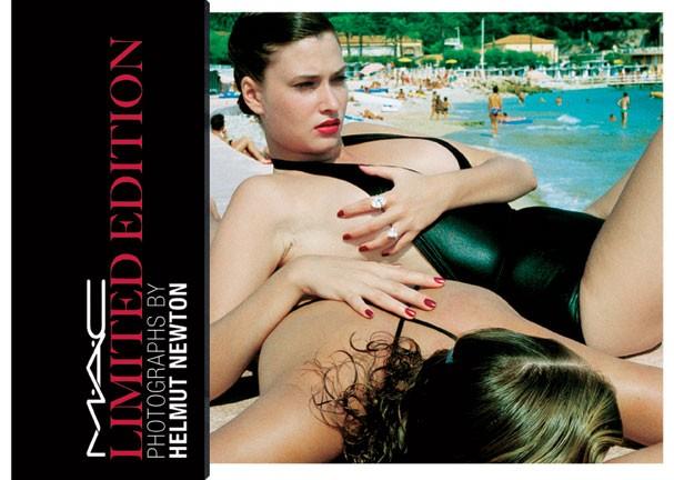 Obra de Helmut Newton inspiração coleção de maquiagem (Foto: Divulgação)