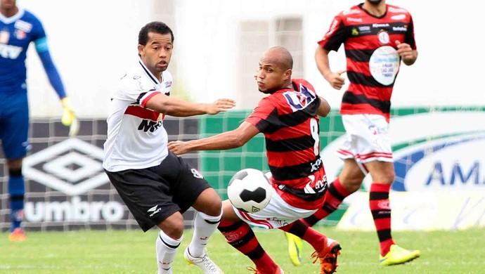 Campinense x Santa Cruz Copa do Nordeste (Foto: Aldo Carneiro / Pernambuco Press)