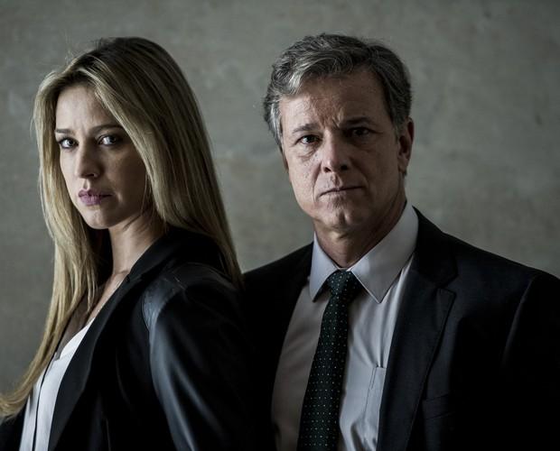 Vera e Dias revivem paixão em Dupla Identidade (Foto: Estevam Avellar / TV Globo)