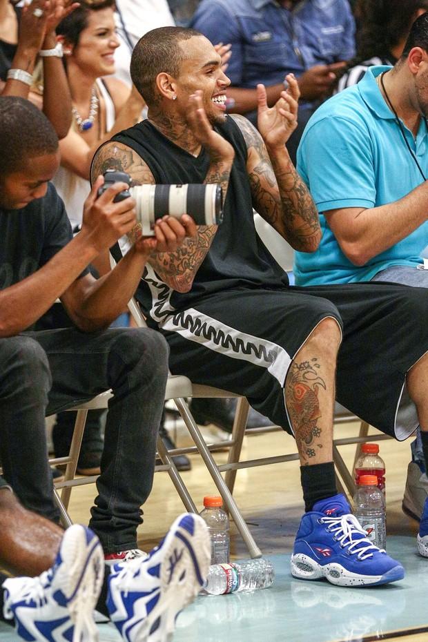 Chris Brown (Foto: Agência/ AFP)