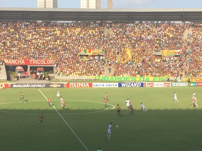 Sampaio e América jogam no Castelão pela Série B (Foto: Zeca Soares / GloboEsporte.com)