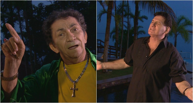 Nunes Filho e Mike Fascina falam da Arena da Amazönia, em suas músicas (Foto: Globo Esporte AM)