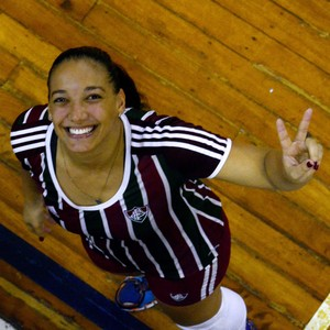 Ariane, Fluminense, vôlei (Foto: Mailson Santana (Divulgação FFC))