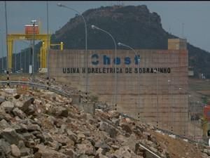 Usina de Sobradinho, Bahia (Foto: Reprodução/ TV São Francisco)