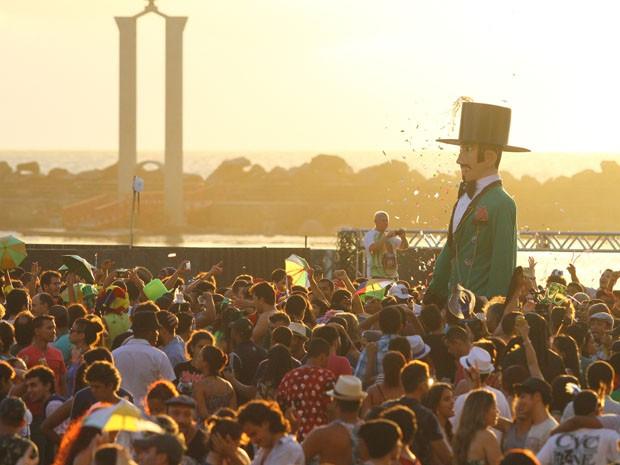 Homem da Meia-noite comanda o 'Arrastão do Frevo' neste domingo (31) (Foto: Diego Nigro / Divulgação)