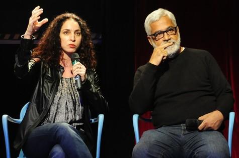 Rosane Svartman e Paulo Halm (Foto: Estevam Avellar/TV globo)