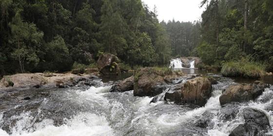 Cachoeira do Jamil, na Zona Sul de São Paulo (Foto: José Cordeiro/SPTuris)