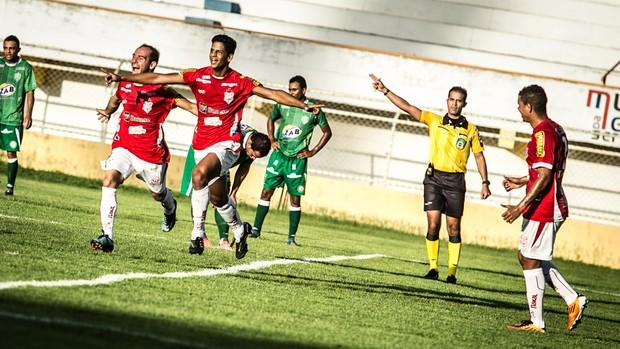Sergipe derrotou o Vitória da Coqnuista  (Foto: Filippe Araújo/FSF)