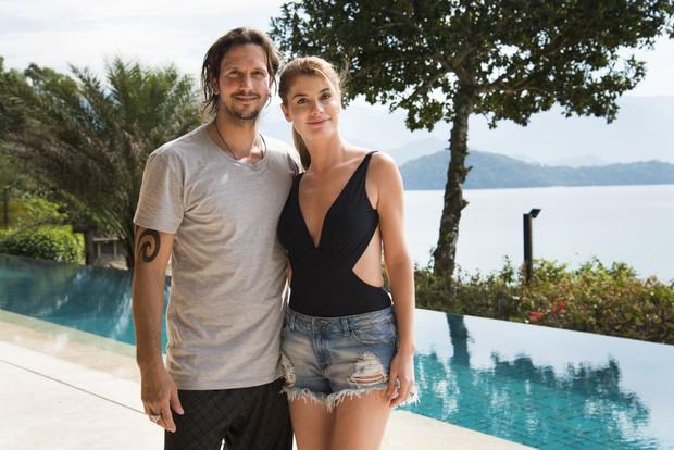 Gui (Vladimir Brichta) e Diana (Alinne Moraes) em Rock Story, que estreia na próxima quarta-feira, 9 (Foto: Globo/Cesar Alves)
