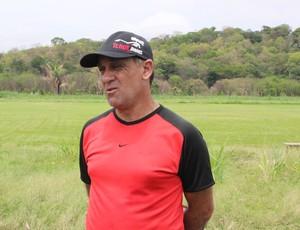 Celso Teixeira, técnico do Flamengo-PI (Foto: Náyra Macêdo/GLOBOESPORTE.COM)