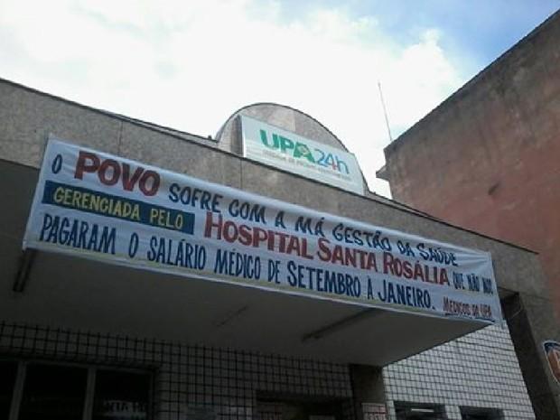 Médicos da UPA de Teófilo Otoni estão em greve