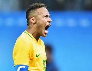 Neymar Brasil x Colombia (Foto: Marcos Ribolli)