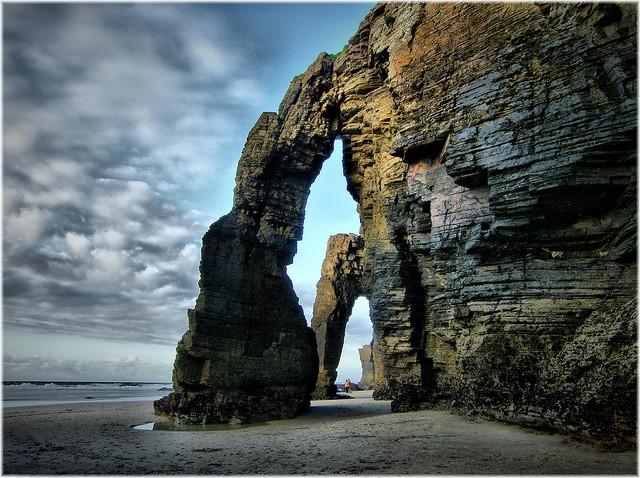 Praia das Catedrais, Espanha (Foto: Creative Commons/Flickr)