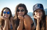 Giulia, Marina e Amanda se divertem em stand up paddle!