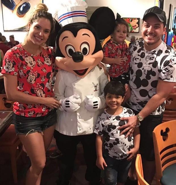 Em família, Wesley Safadão faz cruzeiro em família (Foto: Reprodução/Instagram)