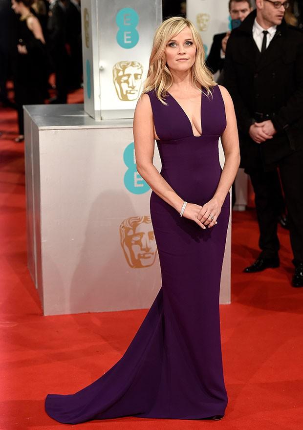 Reese Witherspoon de Oscar de La Renta (Foto: Getty Images)