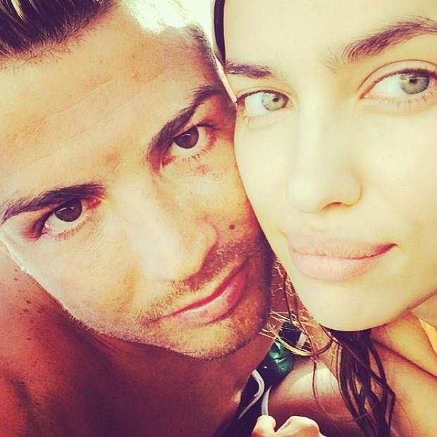 Cristino Ronaldo e Irina Shaik (Foto: Reprodução/ Instagram)