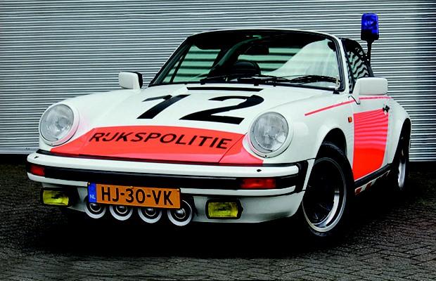 Porsche 911 SC 1982 da polícia holandesa (Foto: Divulgação)