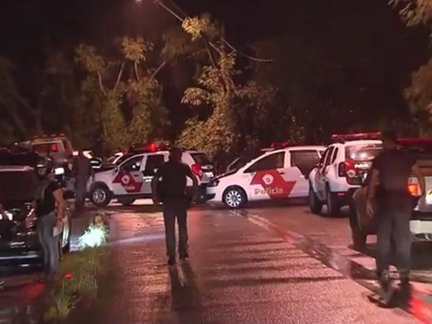 Pm morreu após emboscada em estrade de Cubatão (Foto: Reprodução/TV Tribuna)