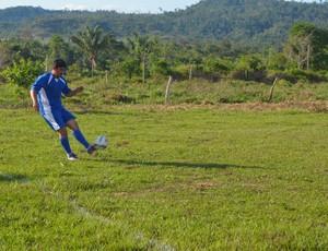 Renato, ex- Vilhena agora no futebol amador (Foto: Jonatas Boni)